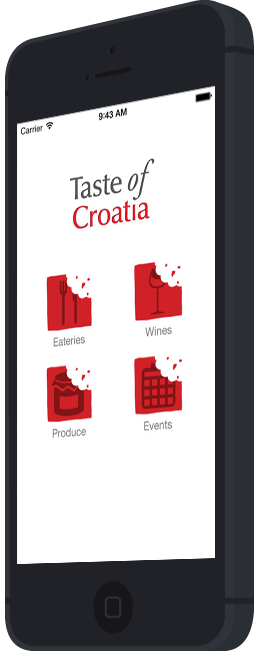 Taste of croatia black project